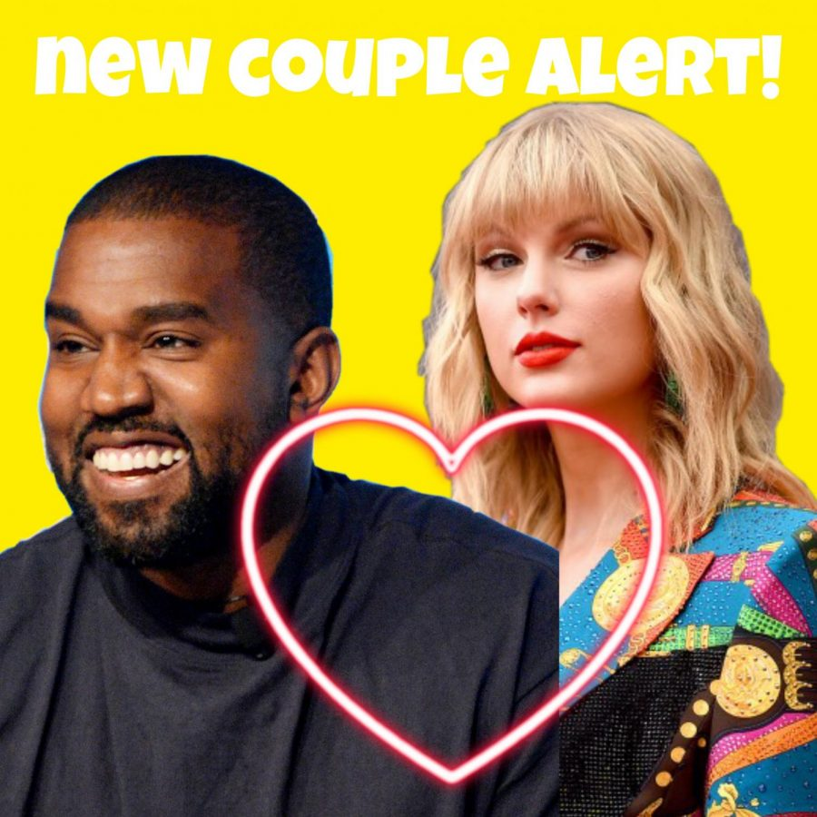 News alert! Kanye has moved on yet another popular sensation, Taylor Swift. Will this relationship end with love or another feud? Picture by Alli Wiggins.