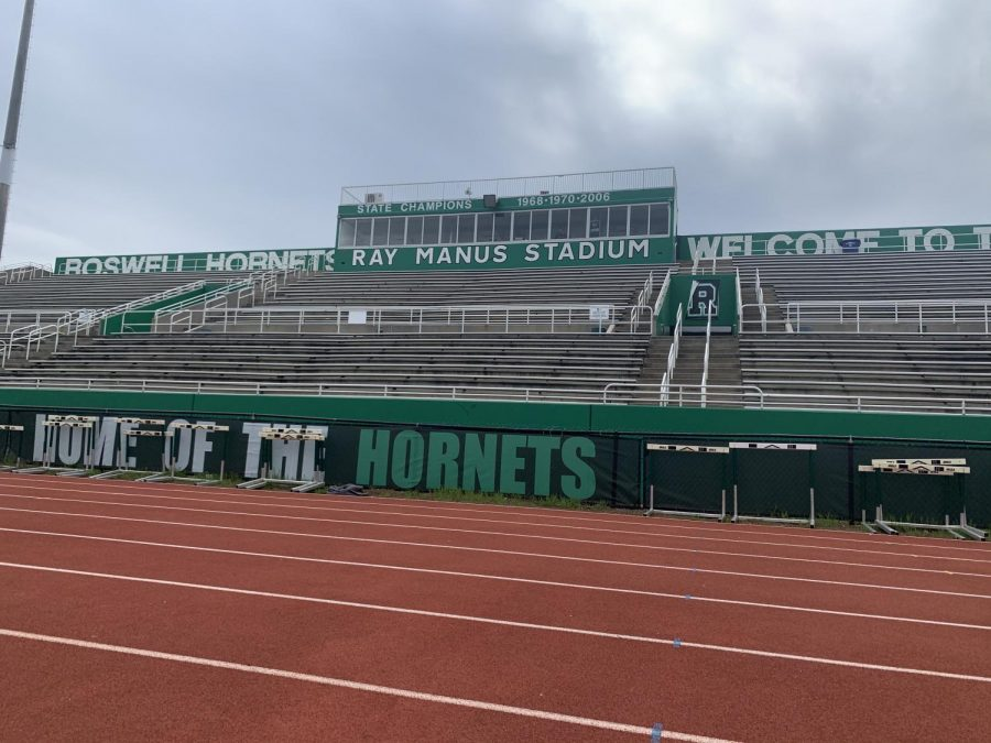 The Ray Manus Stadium where the food fighting team will have their season. Photo Credit: Ansley Tanner