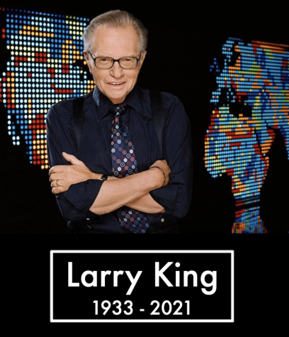 Longtime radio legend Larry King passed away on January 23, 2021 at the age of 87. Picture by Larry King Twitter