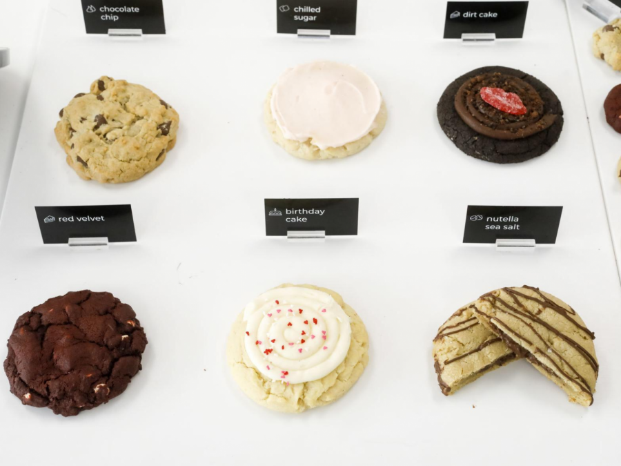 Calling all cookie-addicts! It doesn't matter whether you're a classic chocolate chip lover, or a nutella lover, you'll find your cookie-fit at Crumbl. (Credit: Madison.com)