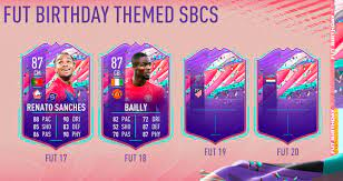it would be nice to see EA do themed sbc