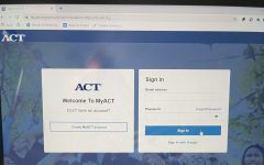 Log in to your account on www.myact.org and get started! (Credit: Gemma Mueller-Hill)