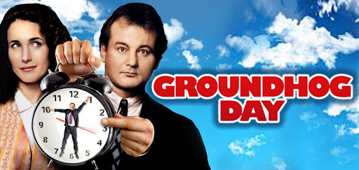 Groundhog Day is a good movie with a solid storyline. (Credit: http://shatthemovies.com/)