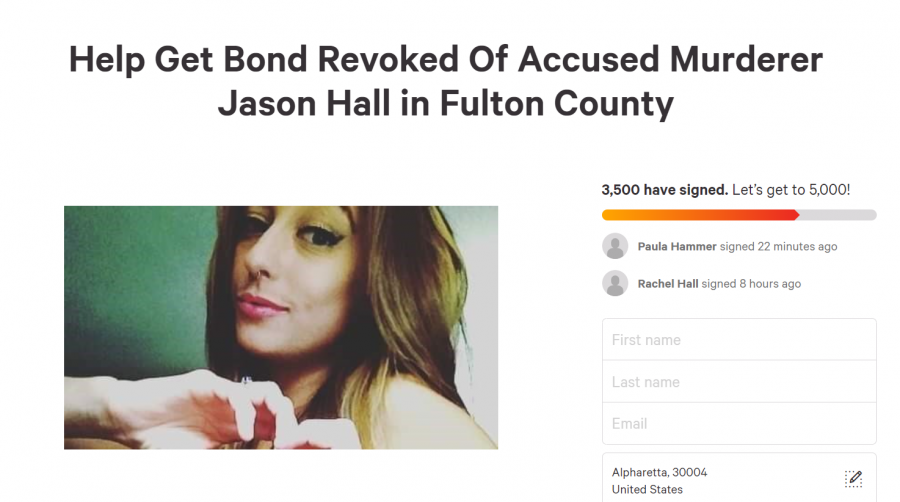 All the help is needed as family and friends of Kelly try to put her alleged murderer back behind bars. Picture: Change.org