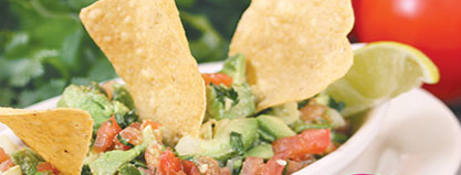 When it comes to El Jinete's guacamole, I'd pass. Their chips, salsa, and cheese dip, however, are worth trying.