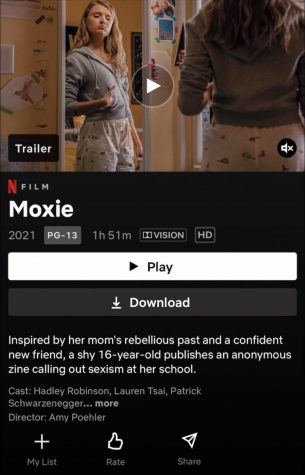 Moxie, now available on Netflix. (Credit: Bella Dombrowski)