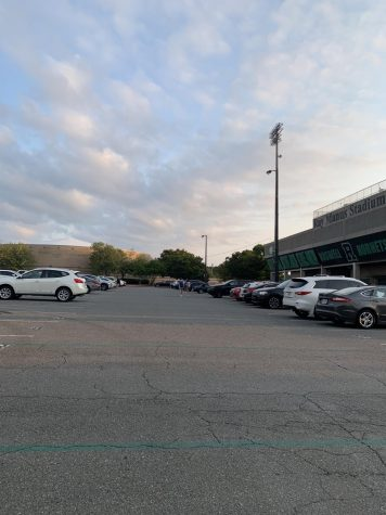 Having a parking spot allows students to get to school whenever they want, as long as they are on time. However, they can easily lose their spot if they are tardy too many times.  photo by: Gabby Lerner